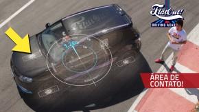 Tudo o que seu carro pode fazer na pista depende destas quatro pequenas pegadas: área de contato dos pneus!