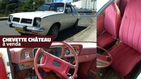 À venda: um raro, bem conservado e original Chevrolet Chevette Château 1979