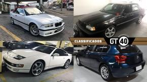 Um BMW E36 conversível com câmbio manual, um Volvo 850 T5R de único dono, um ícone JDM e mais no GT40