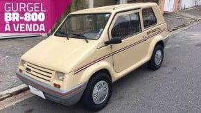 Gurgel BR-800 à venda: eis a sua chance de colocar um carro popular 100% brasileiro na garagem