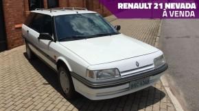 Renault 21 Nevada: uma perua rara, bem conservada, pouco rodada e à venda