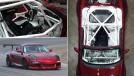 Isto é um Porsche Boxster biturbo de 520 cv com o piloto sentado no meio