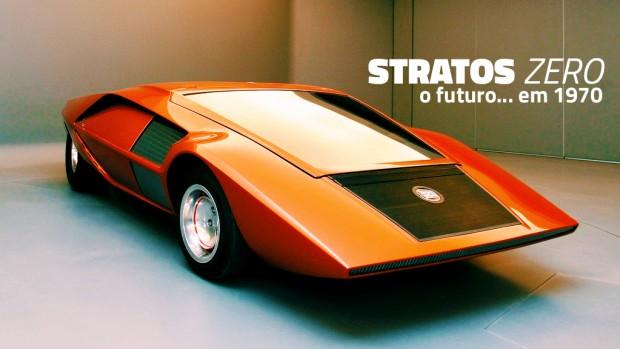 Lancia Stratos Zero: o supercarro em forma de cunha mais absurdo dos anos 70