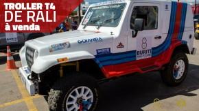 Um Troller T4 de competição com pintura Martini Racing e 300 cv à venda
