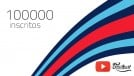 FlatOut Brasil atinge 100000 inscritos no canal de YouTube: muito obrigado!
