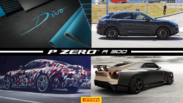 """Bugatti anuncia novo hipercarro """"Divo"""", Porsche Cayenne Coupé aparece em testes, Toyota confirma seis-em-linha para o Supra e mais!"""