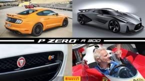 """Mustang é o esportivo mais vendido no Brasil, próximo Nissan GT-R quer ser o esportivo mais rápido do mundo,Villeneuve diz que Williams """"já era"""" e mais!"""