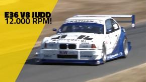 Aumente o volume e ouça o berro deste BMW E36 com V8 Judd de Fórmula 1 em Goodwood