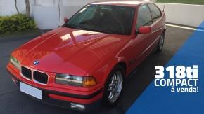 Quer um hatchback de tração traseira? Este BMW 318ti Compact conservadíssimo está à venda!
