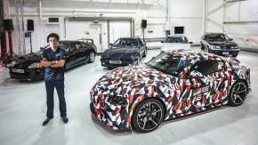 As cinco gerações do Toyota Supra se encontram pela primeira vez