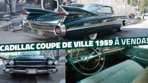 Barn find à venda: este Cadillac Coupe De Ville 1959 jamais foi restaurado