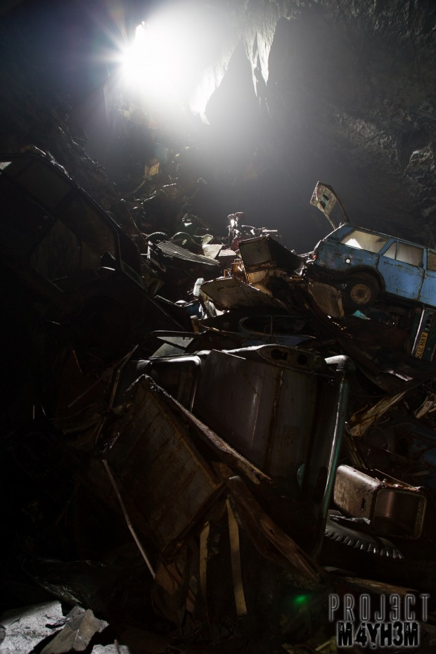 The Car Graveyard Mine