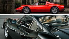 Dino Ferrari: os 50 anos do esportivo que Enzo criou em memóriaseu filho