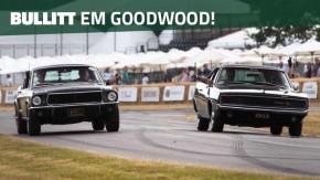 """Bullitt """"para inglês ver"""": Ford Mustang e Dodge Charger do filme se reencontram em Goodwood 50 anos depois"""