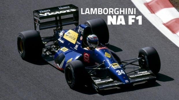 Um motor e cinco equipes: a trajetória frustrada da Lamborghini na Fórmula 1