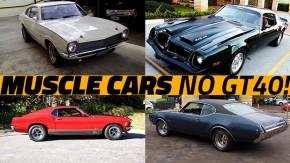 Alguns dos muscle cars (e pony cars) mais bacanas anunciados no GT40