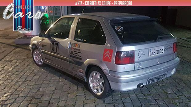 Garagem Citroën ZX: novas rodas para um, nova elétrica para outro e… mais um doador de peças para o Project Cars #417