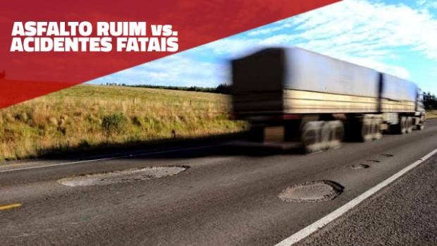 Como a má conservação das estradas influencia os acidentes fatais no Brasil