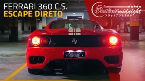 Escape direto: esta Ferrari 360 Challenge Stradale tributo é uma maneira gloriosa de se perder a audição