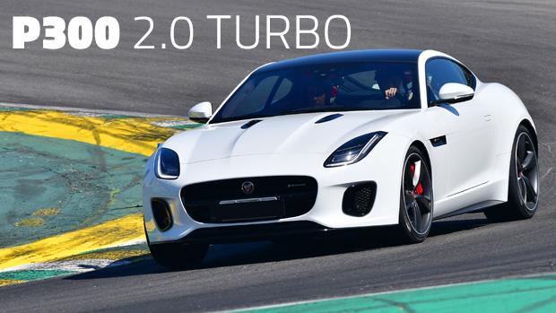 Aceleramos O Jaguar F Type P300 Em Interlagos: 2.0 Turbo Ingenium. E Aí