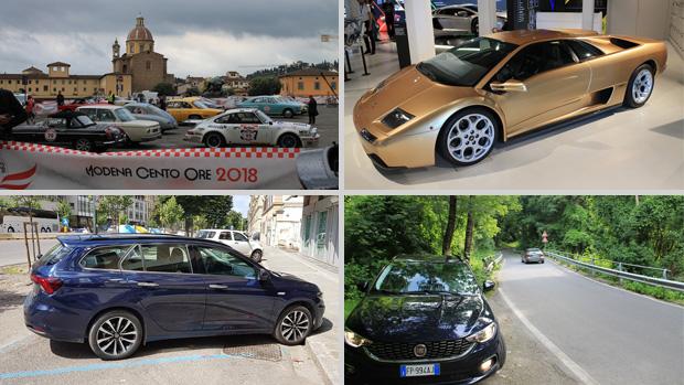 Conhecendo Nürburgring, o Passo Stelvio, o Museo Lamborghini a bordo de uma perua Fiat