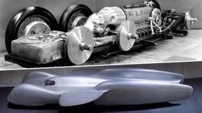 Mercedes-Benz T80: o carro de seis rodas de 3.000 cv que quase foi recordista de velocidade em 1939