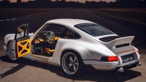 Singer DLS: revelado o Porsche 911 aircooled de 500 cv feito com a ajuda da Williams F1