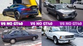 Estes são alguns dos carros com motor V6 mais bacanas do GT40