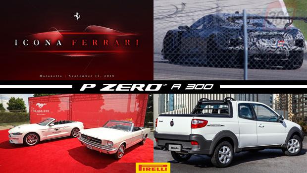 Ferrari terá versão especial limitada da 812 Superfast, Corvette C8.R é flagrado com motor central-traseiro, Mustang chega às 10 milhões de unidades e mais!