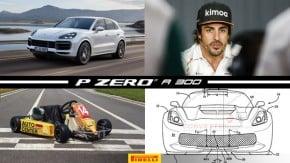 Fernando Alonso fora da F1, Novo Porsche Cayenne chega ao Brasil, o último kart de Ayrton Senna à venda e mais!
