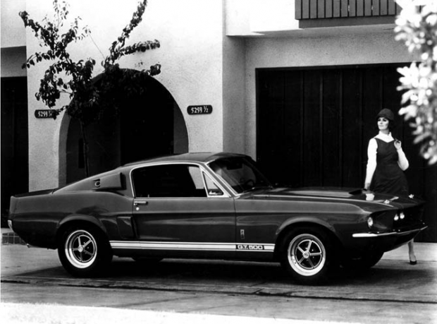 1967 Ford Shelby Mustang GT500 Factory Photo