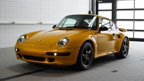 Project Gold: um Porsche 911 993 Turbo S 1998 zero-quilômetro… feito 20 anos depois