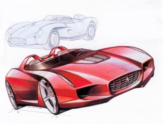 2000 Pininfarina Ferrari Rossa 2000