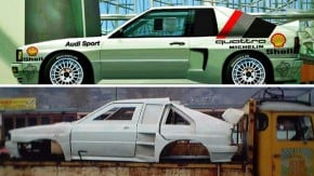 Quando os engenheiros da Audi construiram um Quattro de motor central… que a própria Audi mandou destruir