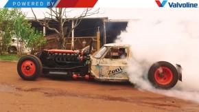 Isto é simplesmente um caminhão Chevrolet C68 com motor V12 quadriturbo de 1.000 cv – feito no Brasil!