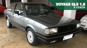 Este raro VW Voyage GLS 1.8 todo original e conservadíssimo está à venda