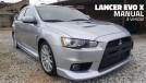 Este raríssimo Mitsubishi Lancer Evolution X com câmbio manual está à venda