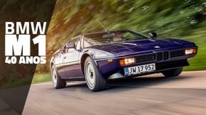 M1: os 40 anos do primeiro supercarro de motor central-traseiro feito pela BMW