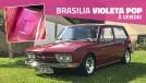 Esta é uma rara VW Brasilia 1974 Violeta Pop – cheia de potencial e à venda!