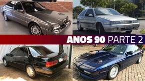 Estes são alguns dos importados dos anos 90 mais bacanas do GT40