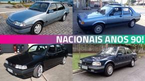 Estes são alguns dos carros brasileiros dos anos 90 mais bacanas do GT40