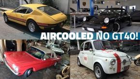 Não é só VW: estes são alguns dos aircooleds mais legais do GT40