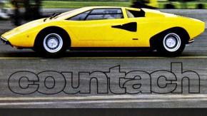 Jogos noturnos: o nome do Lamborghini Countach nasceu em uma brincadeira na madrugada
