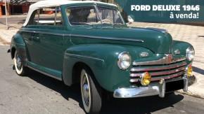 O carro do jovem Biff Tannen: este Ford DeLuxe 1946 está à venda!