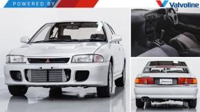 """Isto é um Mitsubishi Lancer Evolution I GSR à venda, mas pode chamar de """"unicórnio"""""""