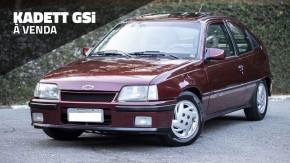 Quer um hot hatch dos anos 90? Este Kadett GSi impecável e muito bem cuidado está à venda