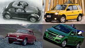 Os apelidos mais marcantes dos carros brasileiros, parte 1: Cornowagen, Leite Glória, NhecoSport e Monstrana