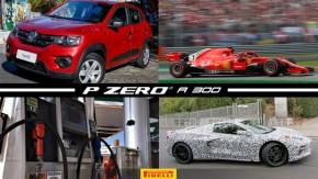 Os carros mais vendidos em agosto, Kimi Raikkonen quebra recorde de velocidade, combustíveis sobem e caminhoneiros falam em greve e mais!