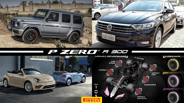 Novo Mercedes G63 AMG chega ao Brasil por mais de 1 milhão, Jetta é flagrado sem disfarcesno Brasil, Volkswagen anuncia o fim do Fusca e mais!