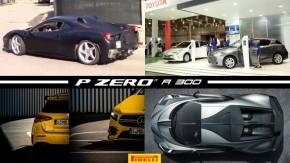 Ferrari flagrada com powertrain híbrido, Salão de carros elétricos começa hoje em SP,Mercedes-AMG divulga primeiras imagens do A35 e mais!